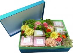 Various combinations gift  -soap & perfume-